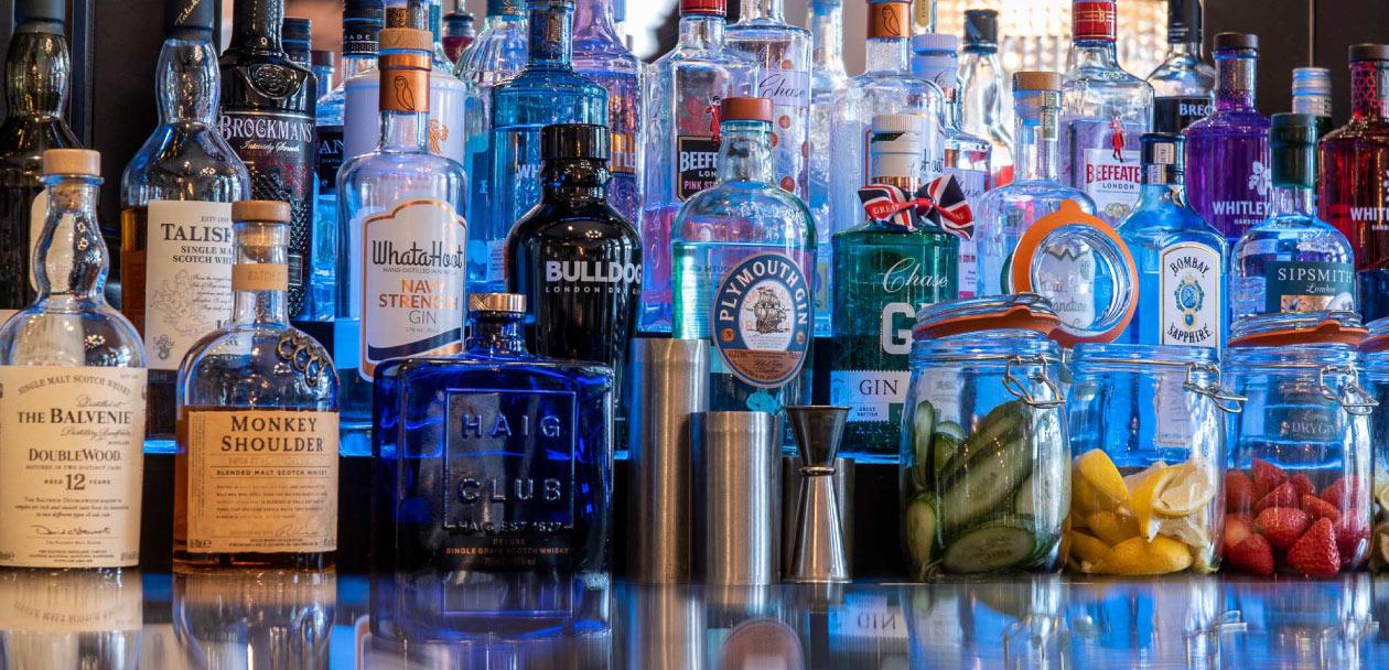 Bar at The Dukes Head Hotel