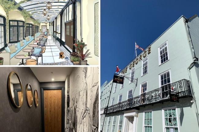 Sneak peak of The George Hotel in Colchester after £10m revamp