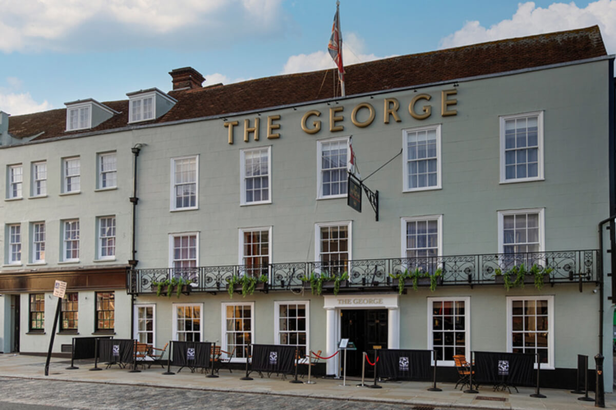 Hotel Review: The George, Colchester, Essex